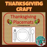 Thanksgiving Placemats Craft