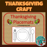Thanksgiving Placemats Craft