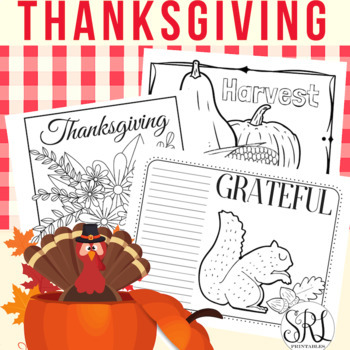 Thanksgiving Placemats Printable, Turkey Day! #freebiefriday