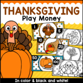 Thanksgiving Play Money