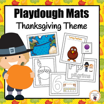 Thanksgiving Playdough Mats
