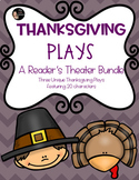 Thanksgiving Plays: A Reader's Theater Bundle