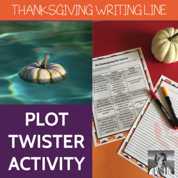 Thanksgiving Plot Twister: Creative Writing Activity