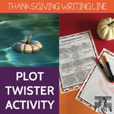 Thanksgiving Plot Twister: Creative Writing Activity