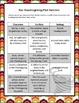 Thanksgiving Plot Twister, Creative Writing for ELA Middle Grades