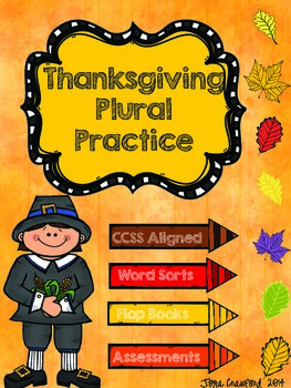 Thanksgiving Plural Practice