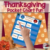 Thanksgiving Pocket Chart Fun