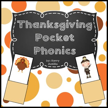 Thanksgiving Pocket Phonics