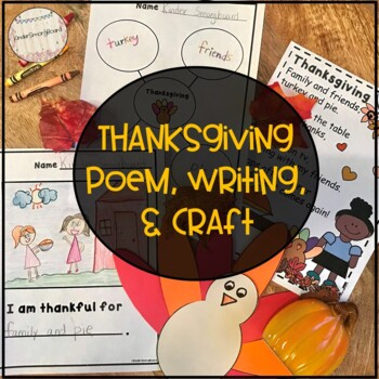 Thanksgiving Poem- Primary Poetry