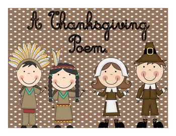 Thanksgiving Poem Cursive Writing Project