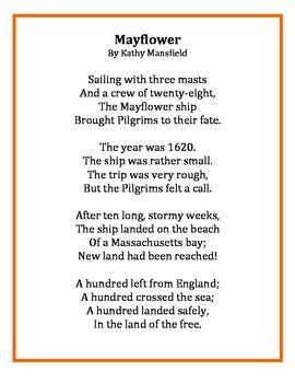 Thanksgiving Poems: Pilgrims