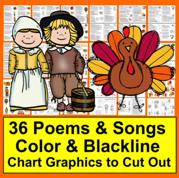 Thanksgiving Activities: Poems and Songs