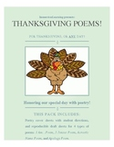 Thanksgiving Poems!