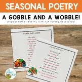 November Poems for Fluency Practice