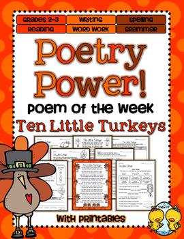 Poem of the Week:Thanksgiving Poetry Power!