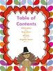 Thanksgiving Poetry Unit Common Core