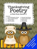 Thanksgiving Poetry Similes and Metaphors Common Core TN Ready Aligned