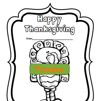 Thanksgiving Activities & Poetry Writing with Melonheadz illustrations