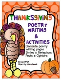 Thanksgiving Activities & Poetry Writing with Melonheadz i
