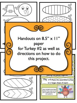 Thanksgiving Activity: Pop Art Turkeys - A Great Turkey Craft!