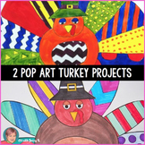Thanksgiving Activity: Pop Art Turkeys - A Great Turkey Craft!