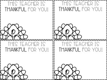 Thanksgiving Positive Notes