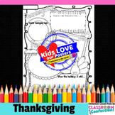 Thanksgiving Activity Poster: Fun Thanksgiving Writing