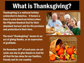 Thanksgiving Activity | Thanksgiving PowerPoint | Thanksgiving Power Point