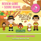 Thanksgiving PowerPoint Game