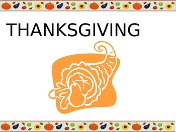 Thanksgiving Powerpoint