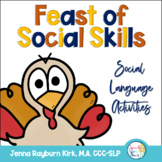 Thanksgiving Pragmatics: Holiday Social Skills for Speech Therapy