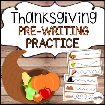 Thanksgiving Pre-Writing Practice