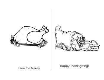 Thanksgiving Predictable Book