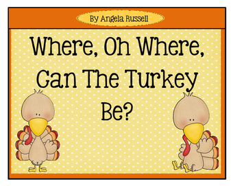 Thanksgiving ~ Preposition Song