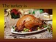 Thanksgiving Prepositional Phrases