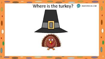 Thanksgiving Prepositions