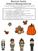 Thanksgiving Prepositions Scenes and Following Directions