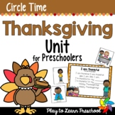 Thanksgiving Circle Time Unit