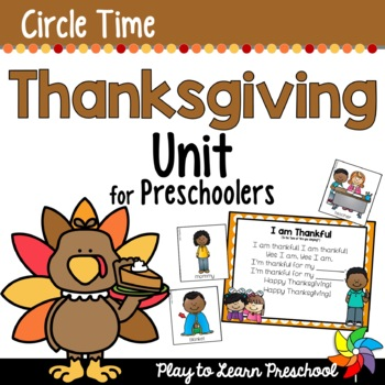 Thanksgiving Circle Time Unit