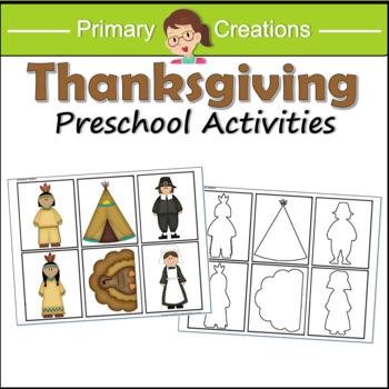 Thanksgiving Preschool Activities