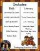 Thanksgiving Preschool Math & Literacy Centers & Activities Bundle