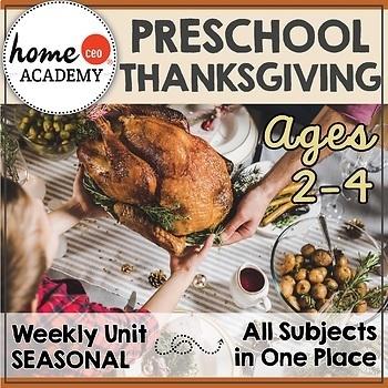 Thanksgiving Preschool Unit