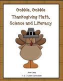 Thanksgiving Preschool Math, Science and Literacy Activities