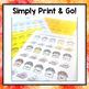 Thanksgiving Print & Go Articulation Worksheets Loaded wit
