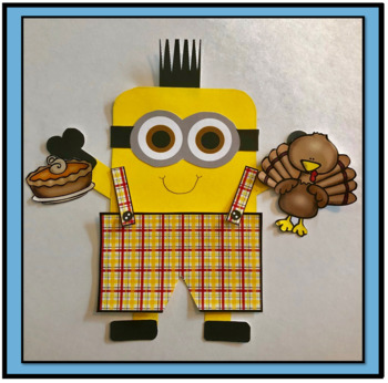Thanksgiving Art Activity for Primary Grades