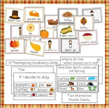 Thanksgiving Printable Activities for Preschool and Kindergarten