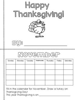 photo relating to Thanksgiving Printable Book called Thanksgiving Printable Ebook