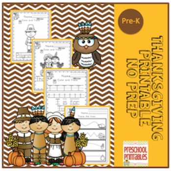 Thanksgiving Printable No Prep