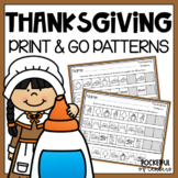 Thanksgiving Pattern Printables