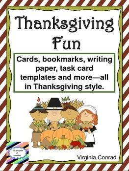 Thanksgiving Printables Just for Fun